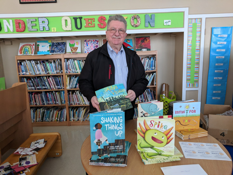 Rotary Book donations